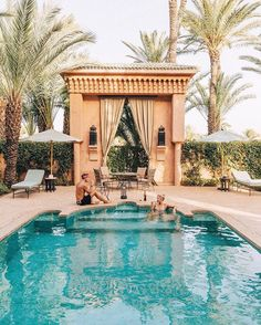 Our oasis from the hustling Marrakech, thanks for the relaxing stay  @amanjena_resort