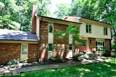 $515,000 - View 30 photos of this 4 Beds 2.1 Baths Split Level home built in 1971. Stunning Contemporary split w 4 finished levels on gorgeous 1-acre woode