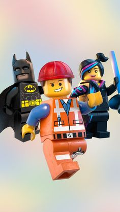 "The Lego Movie: ""Everything is Awesome! Lego Movie Birthday, Lego Movie Party, Lego Ninjago Movie, Emmet Lego, Lego Movie Characters, La Grande Aventure Lego, Lego Universe, Lego People, All Lego"