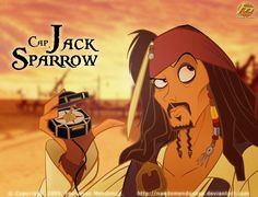 Cap. Jack Sparrow by nandomendonssa