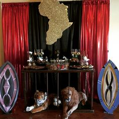 64 ideas for baby black panther party 6th Birthday Parties, Boy Birthday, African Party Theme, Africa Theme Party, African Princess, African Babies, African Royalty, Sixteenth Birthday, Black Panther Party