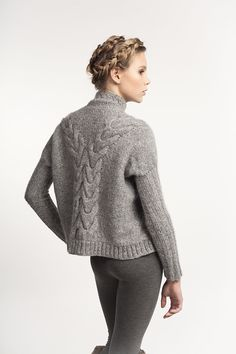 SALANIDA hand-knitted Volume Jumper