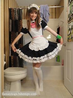 Ooohhhh Maid I could so rock that look