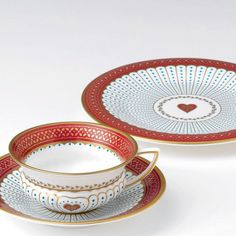 Wedgwood Queen of Hearts Teacup and Saucer | Wedgwood® UK