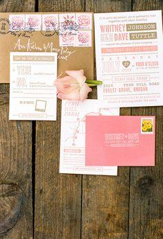 Photography: Ann-Kathrin Koch - www.annkathrinkoch.com%0A%0ARead More: http://www.stylemepretty.com/2014/12/04/colorful-farm-wedding-in-portland-oregon/