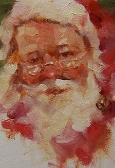 One day you'll be Santa for your child & watch her run down the stairs on Christmas morn, her face lit with joy. Santa is bigger than any person. His work has gone on longer than any of us; a simple, powerful job. He teaches us to have belief in things we can't see. It's a big, important job. Throughout our lives, we need the capacity to believe: in ourselves, friends, talents & family and things we can't touch. Santa is love, a power that lights us from the inside out.