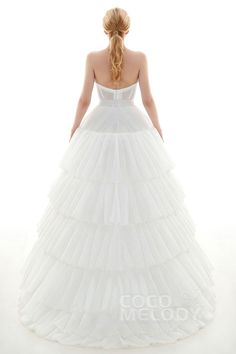 Ball Gown Court Train Medium Fullness Slip 4 Hoops Polyester Taffeta Wedding Petticoats CP0016005 #weddingpetticoats #weddingaccessories #cocomelody #weddingessentials