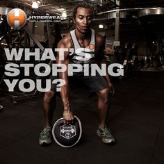Nothing. Get to it! #Fitspiration