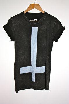 Cross Acid Wash Teeshirt   YococoCamden.com, Women's and Men's Fashion