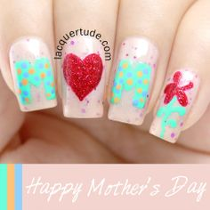 Mother's Day Nail Art + Picture Polish Douceur, Dorothy Swatches | Lacquertude.com