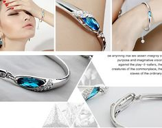 2015 New design China wholesale bangle Crystal Bangle