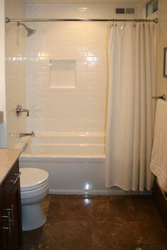 Custom Tile Showers on Subway Tile Bathroom - Best Bathroom Interior Custom Tiles, Subway Tiles Bathroom, Bathroom Interior, Subway Tile, Shower Remodel, Bathrooms Remodel, Bathroom Makeover, Tile Bathroom, Custom Tile Shower
