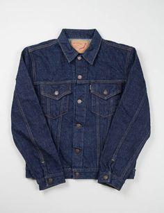 orSlow Indigo One Wash Denim Jacket