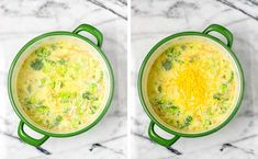 Satisfying and creamy: this Broccoli Soup always hits the spot. So easy to make and ready in under 25 minutes. Filling and no one could ever tell it is entirely vegan. A keeper for lunch, dinner, meal prep that the whole will family love. Broccoli Soup Recipes, Cream Of Broccoli Soup, Fresh Broccoli, Vegetarian Soup, Vegan Soup, Dinner Meal, Vegan Recipes, Vegan Meals, Vegan