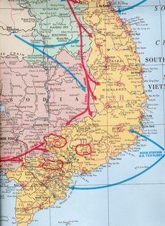 Image result for Vietnam Firebase Locations