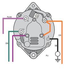 Mercruiser Alternator Wiring Diagram A 3 Wire