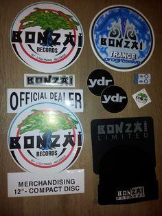 Bonzai Stickers & Other Merchandise