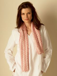 Scarf | Yarn | Free Knitting Patterns | Crochet Patterns | Yarnspirations