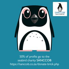 African Penguin Design - 50% of profits to charity