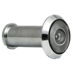 Ultra Hardware 94009 180° Chrome Finish Door Viewer (Door Hardware), Silver
