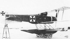 Gotha WD.10  with retractable floats 1917