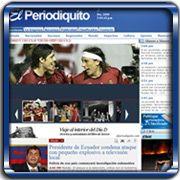 Organización:   Diario El Periodiquito;   Ubicación:   Maracay - Venezuela;   Enlace:   http://www.elperiodiquito.com;   Segmento:  Medios de Comunicación;   Año:   2009