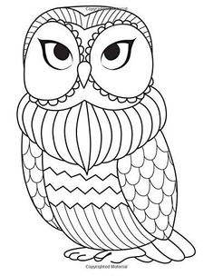 1680 Best Owls Black White Images In 2019 Coloring Books