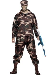 3978a19c685 Army Soldier Costume Army Costume