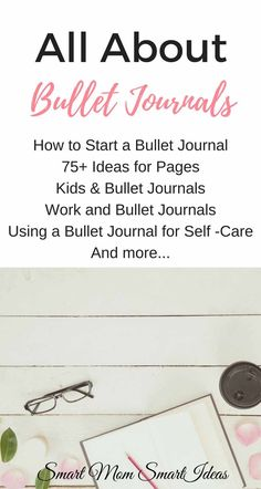 How to start a bullet journal | How to use a bullet journal | free bullet journal printable | bullet journal basic via @smartmomideas