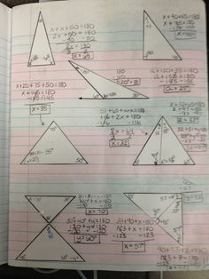 Teaching in Special Education: Angle Sum Theorem