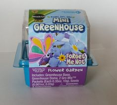 Miracle Gro Kids Mini Greenhouse Forget Me Not Flower Garden -- Visit the image link more details.(This is an Amazon affiliate link and I receive a commission for the sales)