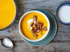 Creme Fraiche, Spicy, Bacon, Ethnic Recipes, Food, Essen, Meals, Yemek, Pork Belly