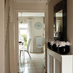 Hallway | Shona's daring new-build town house | House Tour | Style At Home | PHOTO GALLERY | Housetohome.co.uk