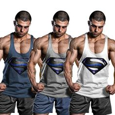 Black Men Bodybuilding Tank Top Muscle T-Shirt Gym Fitness Stringer Sports Singlets Black Costume Dress Shirt, Gym Singlets, Sixpack Workout, Body Building Men, Muscle T Shirts, Mens Fitness, Gym Fitness, Shirts, Fashion Clothes