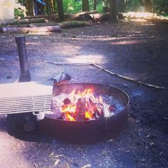 Fire pit is the most important thing for camp.