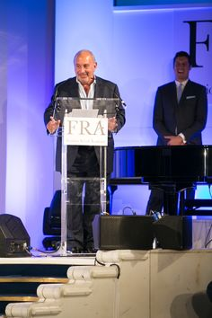 Sir Philip Green at the FRA Awards 2015 Philip Green, Awards