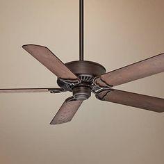 "54"" Casablanca Panama DC Cocoa Energy Star Ceiling Fan - #1C577 | Lamps Plus"