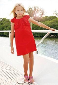 Blumarine, moda infantil, conjuntos y vestidos para niñas, moda colección de verano para niñas de Blumarine
