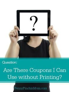 Did you know that you do not have to always print coupons to use them? There are several apps you can use instead and save money without needing a printer! Learn more about how you can do this too!!
