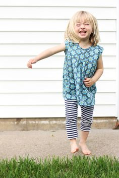 Noodlehead: kids clothes week challenge: leah tunic