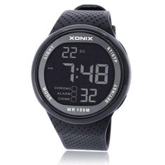 XONIX Fashion Men Sports Watches Waterproof 100m Outdoor Fun Digital Watch Swimming Diving Wristwatch Reloj Hombre Montre Homme WOW  #shop #beauty #Woman's fashion #Products #Watch