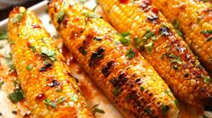 Here's a must-read article from Delish: Meet Your New Favorite Summer Side: Bang Bang Corn Corn Recipes, Veggie Recipes, New Recipes, Vegetarian Recipes, Favorite Recipes, Vegetarian Grilling, Healthy Grilling, Broccoli Recipes, Recipies