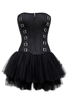 Fashion gothic corset with Free Skirt    $20.00