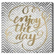 Enjoy All Days Canvas Print, Oliver Gal