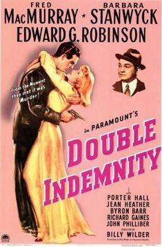Get This Special Offer Fred MacMurray and Barbara Stanwyck and Edward G. Robinson in Double Indemnity classic film noir artwork Poster Best Movie Posters, Classic Movie Posters, Cinema Posters, Film Posters, Barbara Stanwyck, Old Movies, Vintage Movies, Great Movies, Classic Film Noir