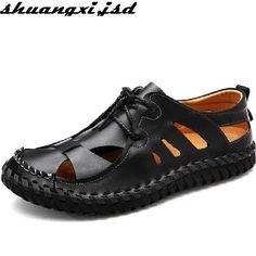 a13fca0cbee043 Men s Sandals · Men Sandals in Summer Casual Shoes Low Top Lace Breathable  Low-top lace Shoe Breathable