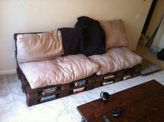 Top 104 Unique DIY Pallet Sofa Ideas | 101 Pallet Ideas - Part 15