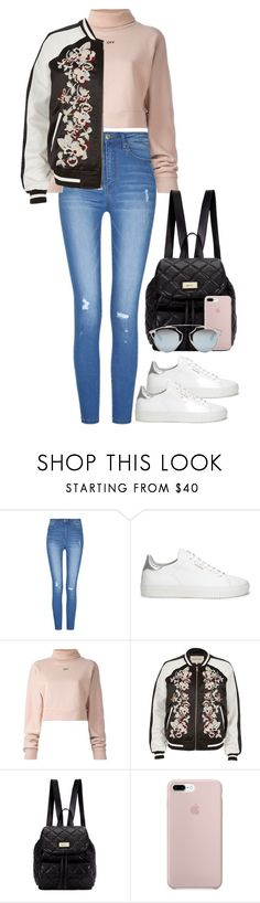 """#"" by bruna-linda-12 on Polyvore featuring moda, Axel Arigato, Off-White, River Island, DKNY e Christian Dior"