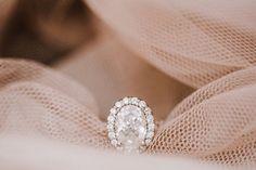 Oval Diamond Engagement Ring |