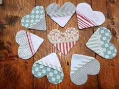 Olivia Twist: Lesezeichen in Herzform zum Valentinstag mit Nähanleitung